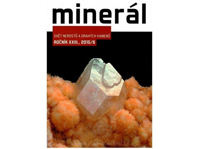 Časopis Minerál 2015/6