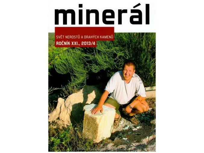 Časopis Minerál 2013/4