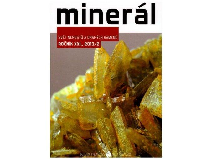 Časopis Minerál 2013/2