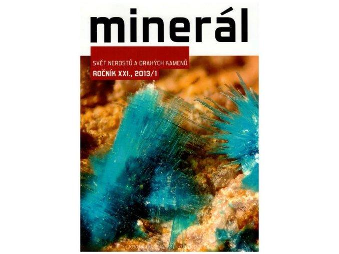 Časopis Minerál 2013/1