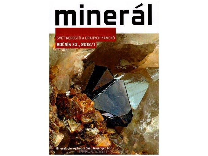 Časopis Minerál 2012/1