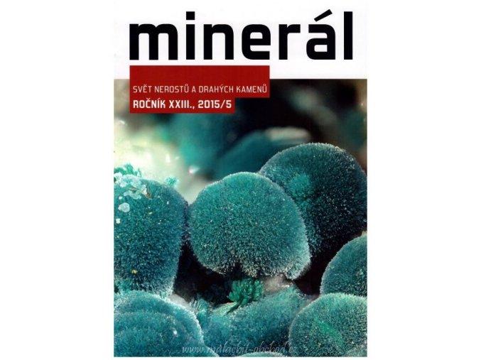 Časopis Minerál 2015/5
