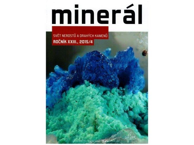 Časopis Minerál 2015/4