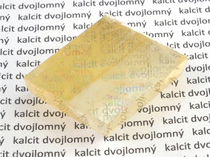 Kalcit dvojlomný (12)