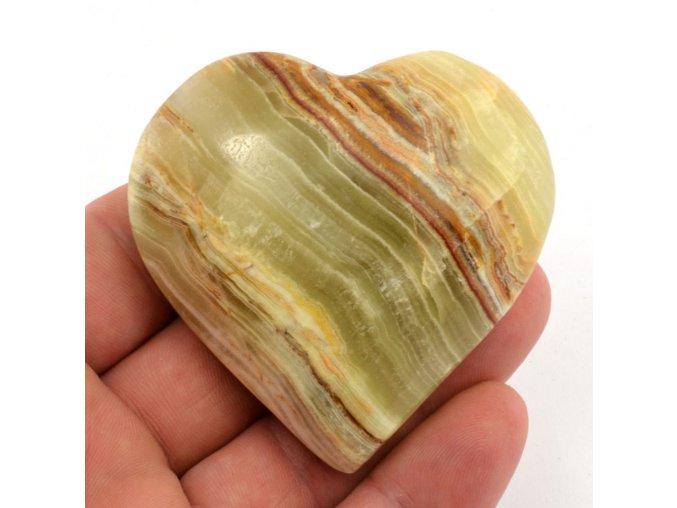 srdce z aragonitu 6cm 4