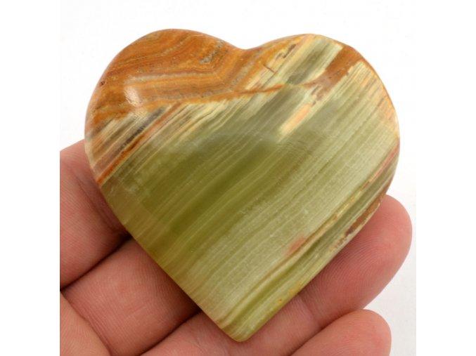 srdce z aragonitu 6cm 10