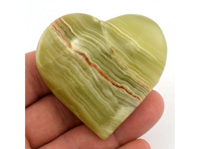srdce z aragonitu 6cm 12