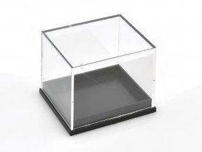 krabicka na mineraly cerna