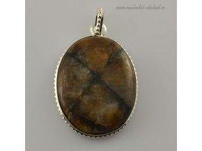 Přívěsek s drahým kamenem (11)