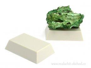 Podstavec pro minerály 6x4cm (šedý)