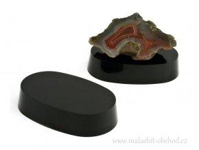 Podstavec pro minerály 7x4,5cm (černý)