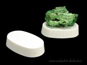 Podstavec pro minerály 7x4,5cm (bílý)