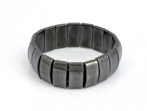 Náramek magnetický - hematit (1)