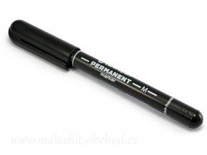 Černý pernametní popisovač 1mm