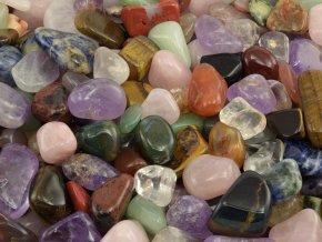 Tromlované kameny mix 200g (1,5-3cm)