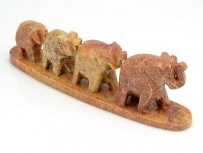 Čtyři sloni v řadě (1ks)