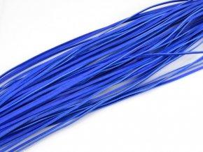 Kožený řemínek tmavě modrý 1ks