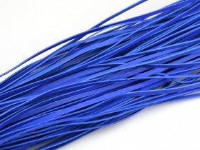 Levný kožený řemínek tmavě modrý 1ks