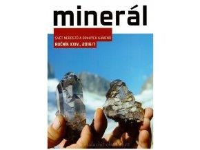 Časopis Minerál 2016/1