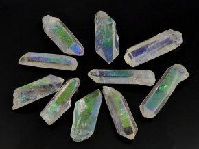 Křišťál 1ks - aqua aura (3,5-4,5cm)