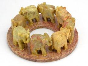 Sloni v kruhu (1ks)