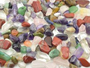 Malé tromlované kameny mix 500g (1-2cm)