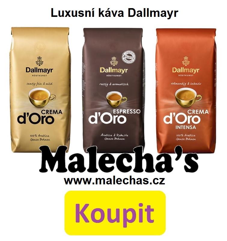 Luxusní káva Dallmayr