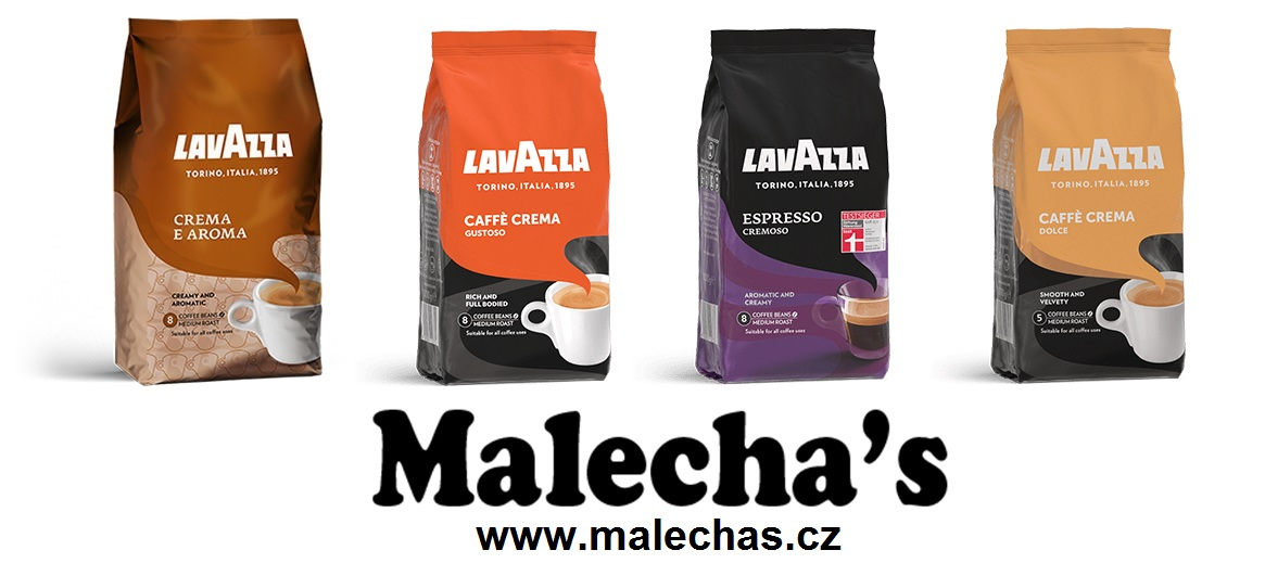 Výtečná, lahodní italská káva Lavazza