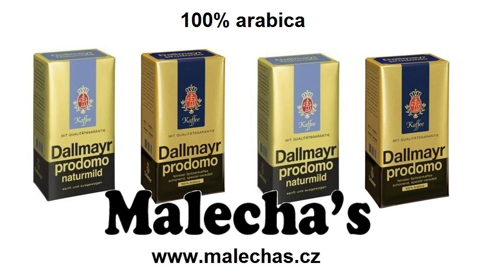 Lahodná mletá káva Dallmayr Prodomo