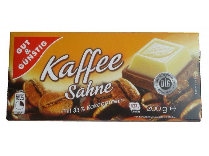 Gut&Günstig Kaffe Sahne - čokoláda 200g
