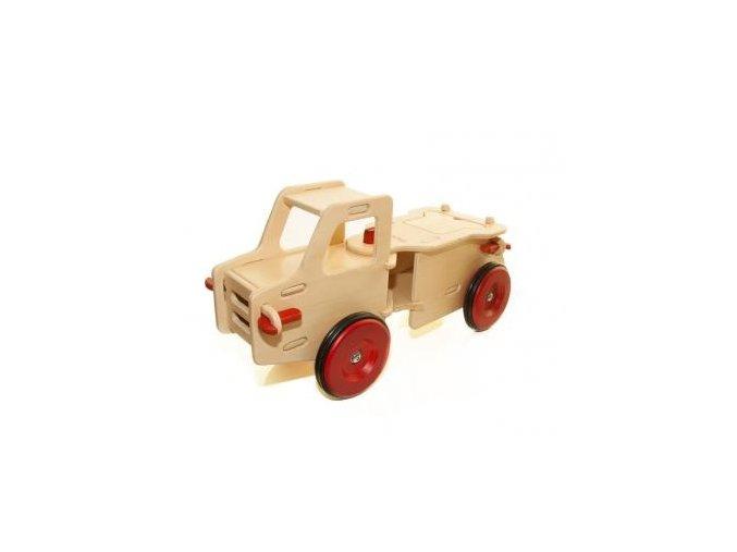 Dětské auto přírodní