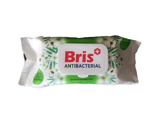 Bris antibakteriální ubrousky 100kusů