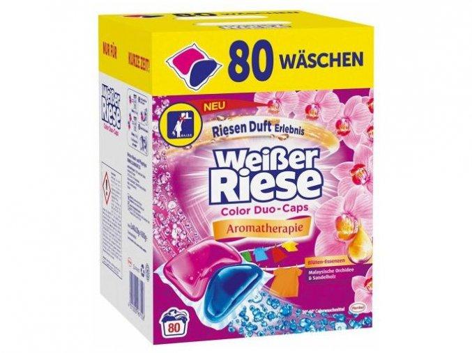 Weisser Riese Duo Caps kapsle na praní barevného prádla 80 ks   Malechas