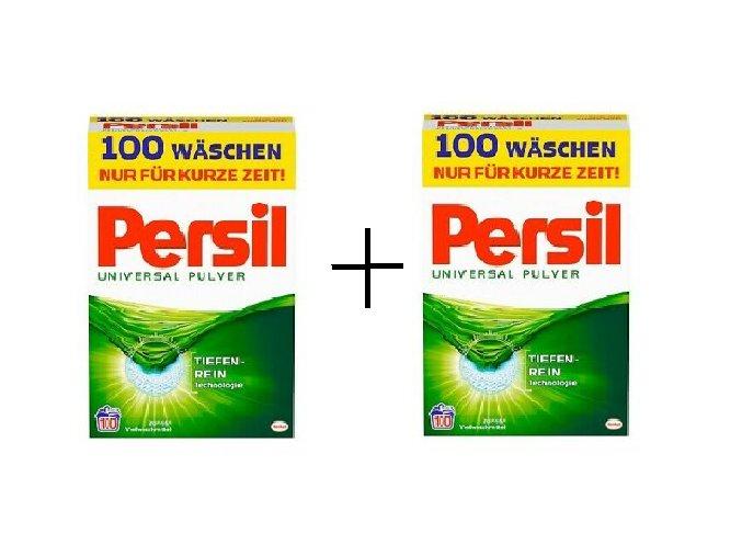 2 x Prací prášek z Německa Persil Universal, 100 pracích dávek | Malechas