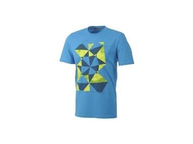 Pánská trička Adidas modrá s potiskem D81560