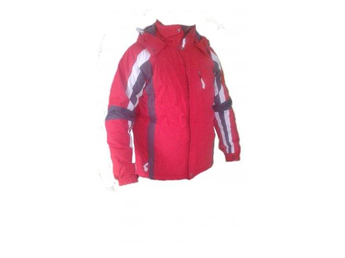 Alpine Pro 410841 / červená - M  Pánská lyžařská bunda