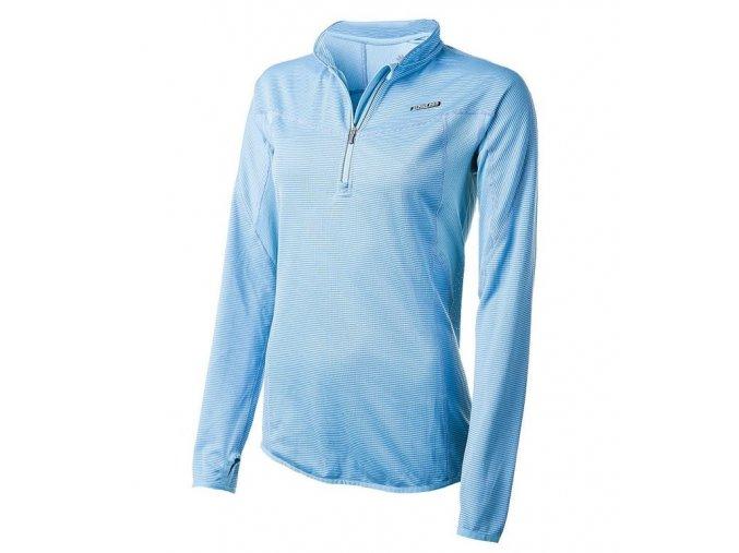 Alpine Pro modré dámské funkční triko CHAMELEON 70013636
