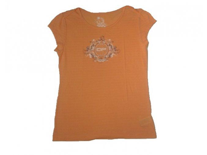 Alpine Pro 8268302 PAUSE Oranžová dámská trička XL