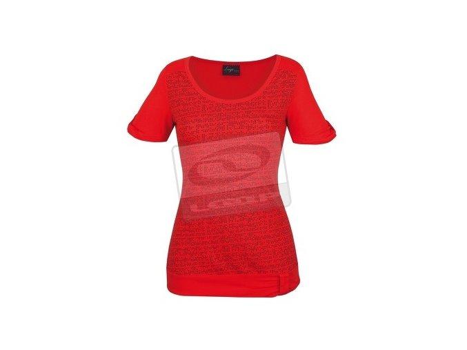 Loap KAYLEY CCL1324  Dámské elastické tričko oranžové