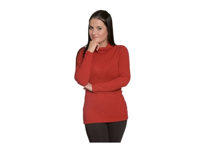 Červený dámský rolák M,L,XL
