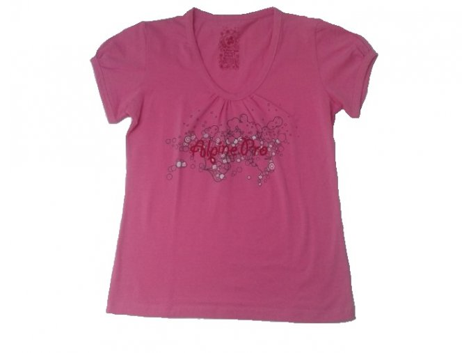 Alpine pro růžové dámské letní tričko