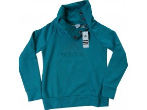 Dámské mikiny adidas W54136 AF Q4 Perf.Hood