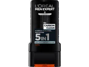L'ORÉAL Men Expert Carbon Clean, 300 ml, sprchový gel