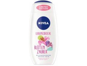 NIVEA sprchový gel s vůní růží Blüten Zauber 250 ml