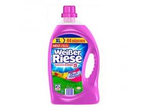 Weisser Riese, prací gel Color, 44 pracích dávek