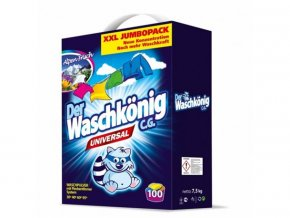 Waschkönig universální prací prášek 7,5 kg 100 PD
