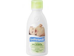 babylove, Dětský  tělový olej pro citlivou pokožku, 250 ml