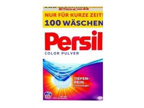 Prací prášky z Německa Persil Color na barevné prádlo, 100 pracích dávek | Malechas