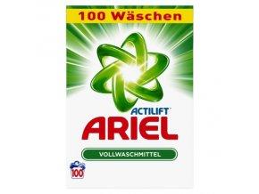 Prací prášky z Německa  Ariel Actilift, na bílé prádlo, 100 pracích dávek