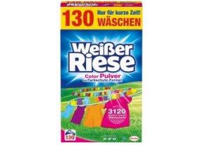 Prací prášky z Německa  Weisser Riese Color XXL 130 pracích dávek